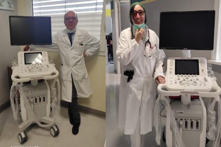 Florim, Kerakoll, e System Holding donano quattro ecotomografi agli ospedali modenesi
